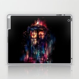TARDIS Doctor Who Abstract Time Space Travel Laptop & iPad Skin