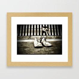 Childhood Past Framed Art Print