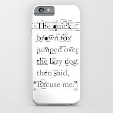 The Quick Slim Case iPhone 6s