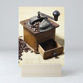 coffee grinder 6 Mini Art Print