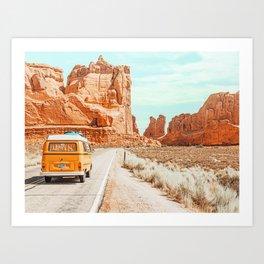 The Next Adventure #photography #digitalart Art Print