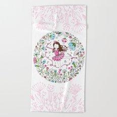 Sweet Ballerina Beach Towel