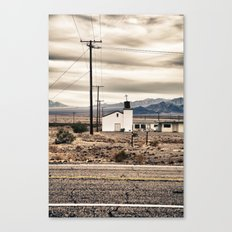 The Lonely Church Canvas Print