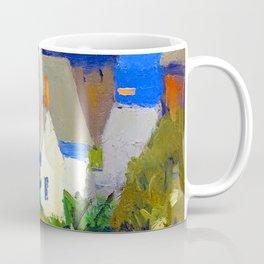 Edward Hopper Monhegan Houses Coffee Mug