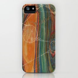 Lively Synapses (Amplified Current) iPhone Case