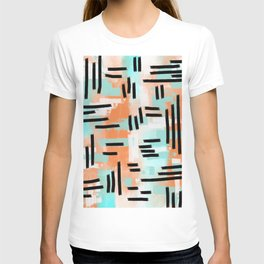 Linear Abstract T-shirt