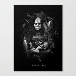 Voodoo Lady Canvas Print