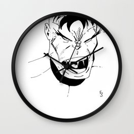 Hulk - You Wouldn't Like Me When I'm Angry - 2012 Wall Clock