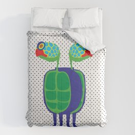 Animal Mardi Gras: Turtle Comforters