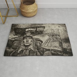 Mining Tribute Antique 1 Rug