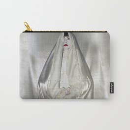 "say no to patriarchy / ""the virgin"" Carry-All Pouch"