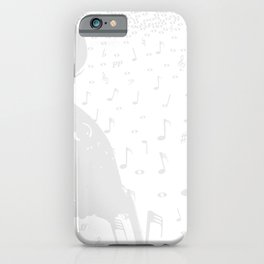 Classical Music Background iPhone Case