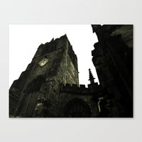 religious Canvas Prints featuring Religious Perspectives by Glanoramay