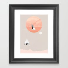 FROM EARTH Framed Art Print