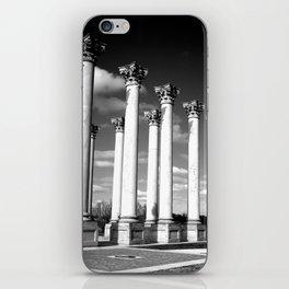 Greek Poles iPhone Skin