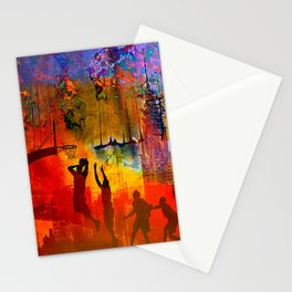 A summer in New York Stationery Cards