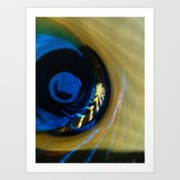evil eye Art Prints featuring Evil Eye by Jim Marino