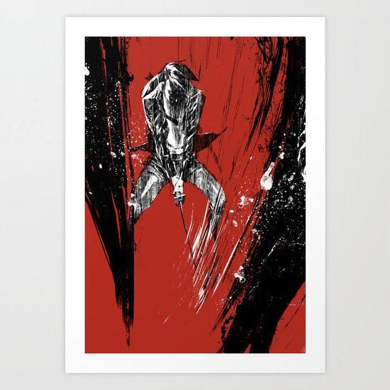 Kiss of Vengeance III Art Print