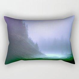 Alien Arrival Rectangular Pillow