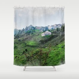 Erice art 5 Shower Curtain