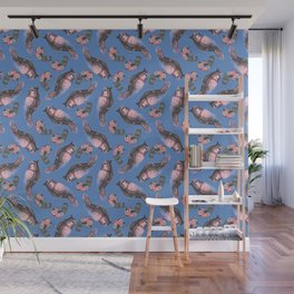 TROPICAL PASTEL BIRD Wall Mural