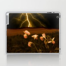 In darkest night one sees the flash but beauty soothes the karmic crash Laptop & iPad Skin