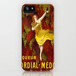 Vintage poster - Liqueur Cordial-Medoc iPhone Case