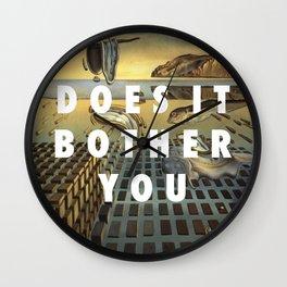 Don't Disintegrate Wall Clock