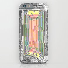 Glitch in the Style of Art Nouveau  Slim Case iPhone 6s