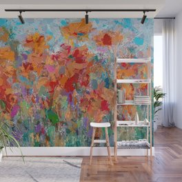 The Visionary Poetry Abstract II Wall Mural
