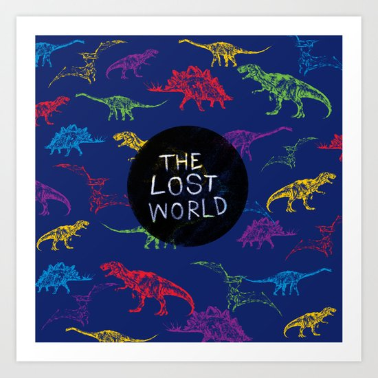THE LOST WORLD Art Print