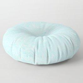 Blue Marble Floor Pillow