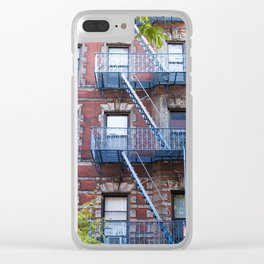 Downtown Walk Up Clear iPhone Case