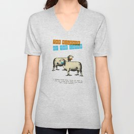 The silence of the lambs Unisex V-Neck