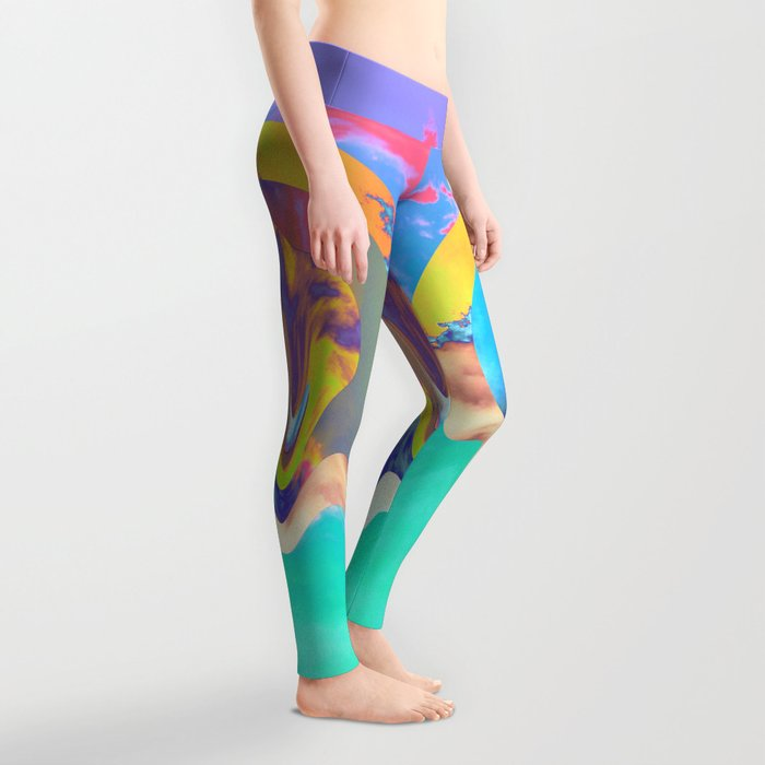 Psychedelic Clouds Leggings