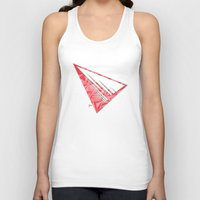 pyramid Tank Tops featuring Pyramid by Flester