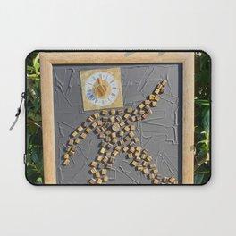 """""""5 vor 12"""" für die Menschheit / Kunsthaus-Lay Laptop Sleeve"""