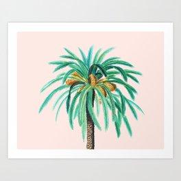 Coconut Island #society6 #decor #buyart Art Print