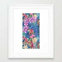 splash Framed Art Prints featuring Orchid Splash by Vikki Salmela
