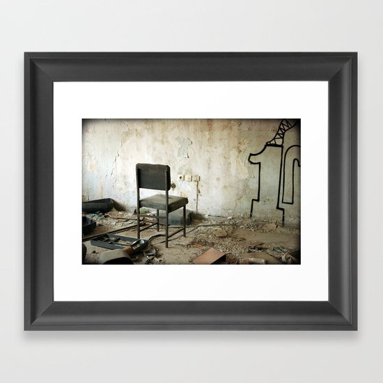 Punishment Framed Art Print