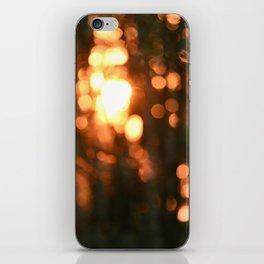 Sunset in Drawsko 5 iPhone Skin
