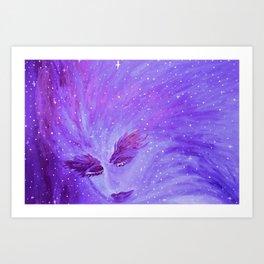 Sueño Cosmico Art Print