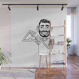 weak Wall Mural