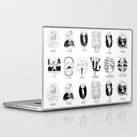 astrology Laptop & iPad Skins featuring Natural Astrology by Coily and Cute