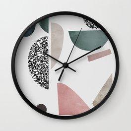 Mosaic 1 Wall Clock