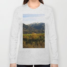 Ojai Valley With Snow Long Sleeve T-shirt