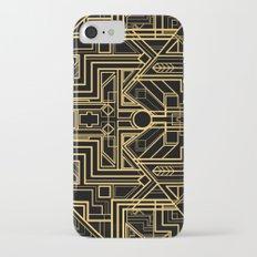 Art Deco Gatsby iPhone 7 Slim Case