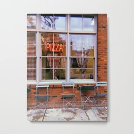 Pizza Parlor Metal Print