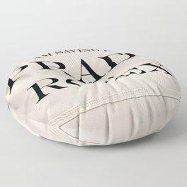 Saving... Floor Pillow
