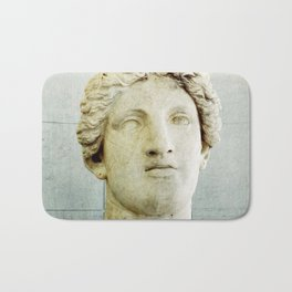 Male Roman Sculpture Bath Mat